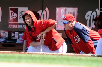 Nats' Harper Starting in Left Field Monday