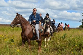 A Cabin Stay & Horseback Rides in Boston (Va.)