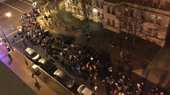 Protesters March Through NW DC Hours After Women's March