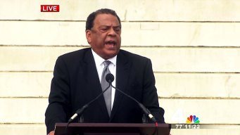 Andrew Young Opens Ceremony With a Song