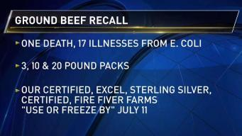 132,000 Pounds of Ground Beef Recalled