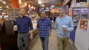 Mike Solomonov and Steve Cook Treat George to a Taste of Philly's Food Scene