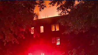 Fire Displaces 200 DC Residents