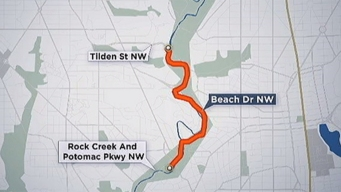 Beach Drive Commuters Warned to Find New Route