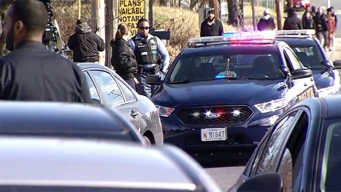 Student Shot Near Suitland High; Search for Gunman Underway
