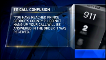 911 Call Confusion in Prince George's County
