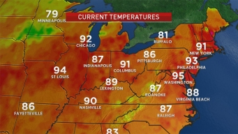 Expect Another Scorcher After Record-High Tie