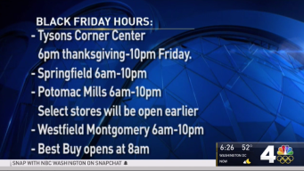 Here's What Malls Will Be Open Thanksgiving, Black Friday