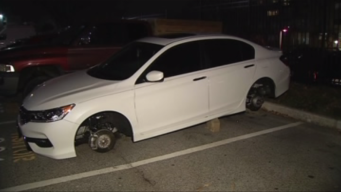 Honda Accord Tires Stolen Twice Within One Week<br /><br />