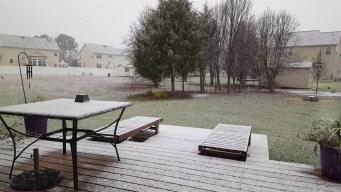 Snow in Lexington Park