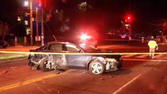 1 Dead, 3 Hurt in DC Crash; Scene Spans Several Blocks