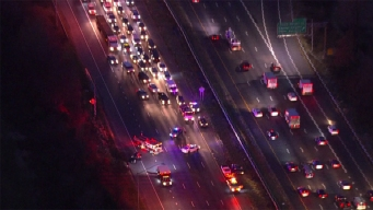 Delays Remain on Outer Loop After Multi-Vehicle Crash in MD