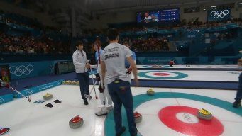 U.S. Men Fall Hard to Japan in Curling Action