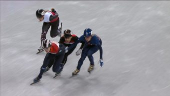 Elise Christie Crashes, Disqualified After Pass in 1000m