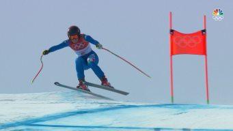 Sofia Goggia Wins Women's Downhill Gold