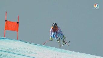 Alice McKennis Misses Podium, Finishes 5th in Downhill