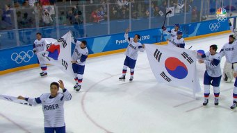 South Korea Players Honor Coach in Final Game