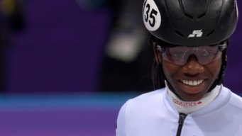 Maame Biney Impressed With Leslie Jones' Questions