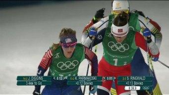 Norway's Bjorgen, U.S. Make History in Women's Team Sprint