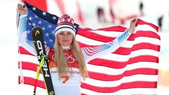 Lindsey Vonn Takes Bronze in Final Downhill
