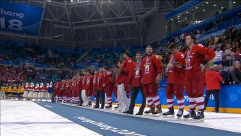 Watch the Entire Medal Ceremony for Men's Hockey