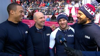 Team USA Bobsledders Praise PyeongChang Experience