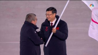 Watch the Olympic Flag Handover From PyeongChang to Beijing