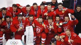 Olympic Athletes From Russia Win Gold in OT Win Vs. Germany