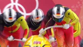 ICYMI: Germany Dominates Four-Man Bobsled, Amidst Tie