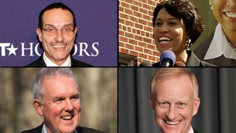 Candidates Trade Barbs in Televised Debate