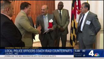 Iraqi Officials Visit Laurel, Meet With Leaders