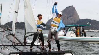 Argentine Cancer Survivor Wins Olympic Sailing Gold at 54
