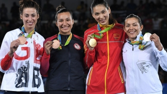 Taekwondo: China's Zheng Takes Gold, US's Galloway Bronze