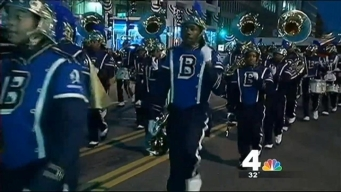 Ballou Band Marches in Obama's Second Inauguration
