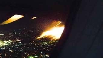Watch: Flames Shoot Out of Engine on American Flight