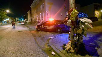 3 Gunmen Shoot, Wound 8 in Baltimore Attack