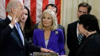 Biden Sworn in for 2nd Term as VP