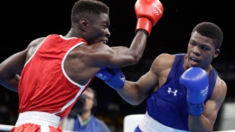 US Boxer Gary Russell Wins 1st Olympic Bout for Family