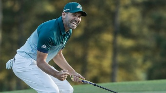 Sergio Garcia Wins Masters Golf Tournament at Augusta Nat'l