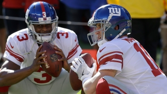 Eli Manning Benched by Giants for Geno Smith