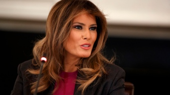 First Lady Vows to Fight Cyberbullying Despite Critics
