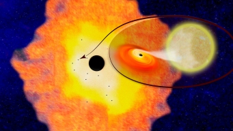 Center of Milky Way Is Teeming With Black Holes: Study