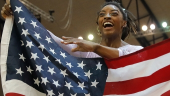 Biles, Not at Exquisite Best, Wins 4th All-Around at Worlds
