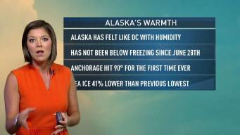 Alaska Records 95 Straight Days of Hotter Than Usual Temps