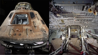 Apollo 11 Capsule Going on Tour