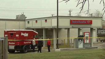 Armored Truck Employees Robbed While Loading ATM