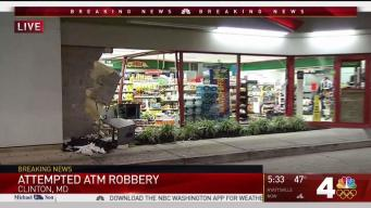 Attempted ATM Theft Nearly Rips Away Md. Storefront
