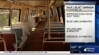 'Back to Blue' Campaign Wants Riders to Rediscover Metro
