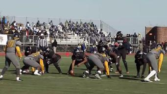 Ballou Takes Turkey Bowl Over Shorthanded Woodson 21-14