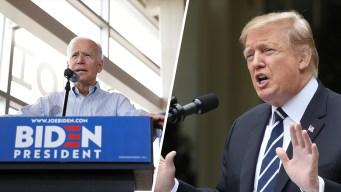 Biden, Trump Hold Dueling Events in Iowa